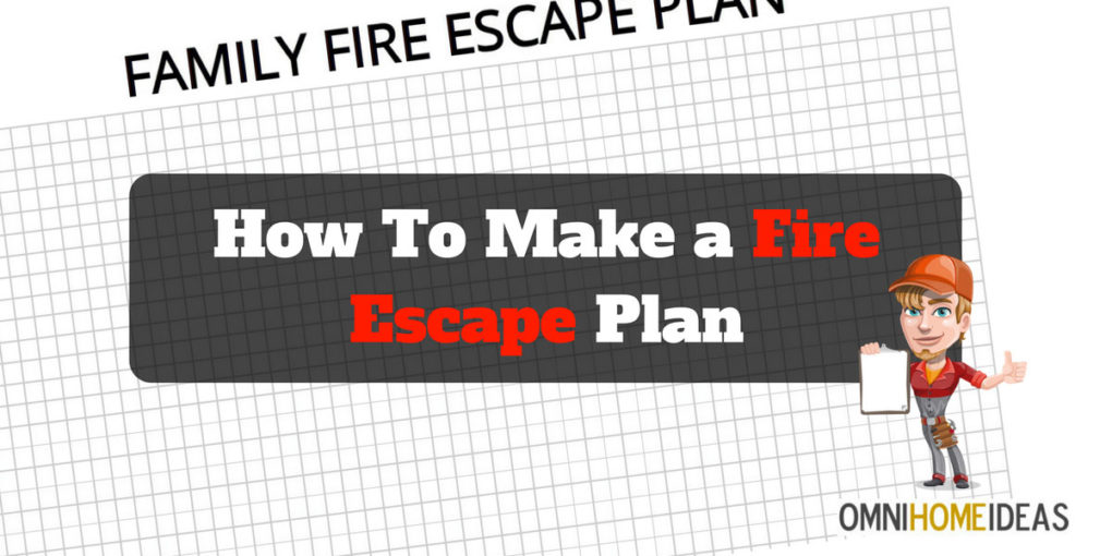 Printable Fire Escape Plan Template | How To Make A Fire Escape Plan For Home With Printable Plan Template
