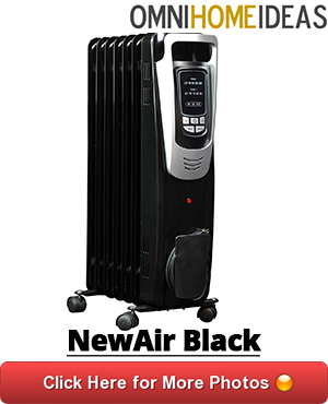 04 newair oil filled black heater ah 450b