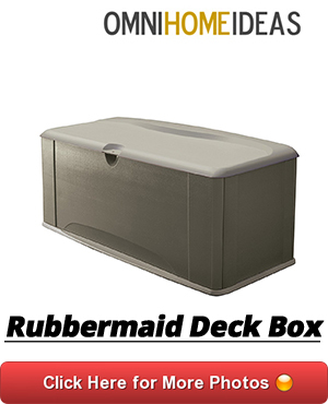 04 RUBBERMAID DECK BOX