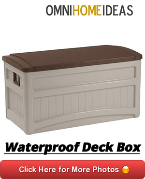 07 WATEPROOF DECK BOX WITH WHEELS