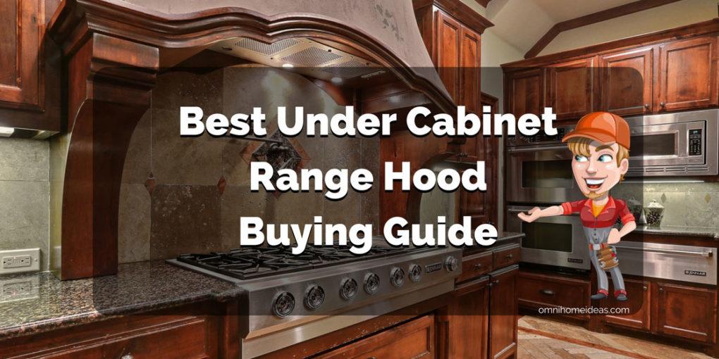 best range hood under cabinet