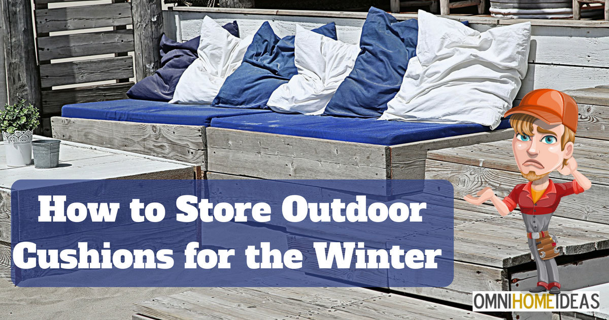 How To Store Outdoor Garden Cushions For The Winter Or During Rain