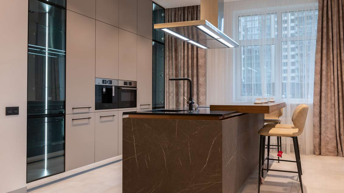 modern kitchen range hood