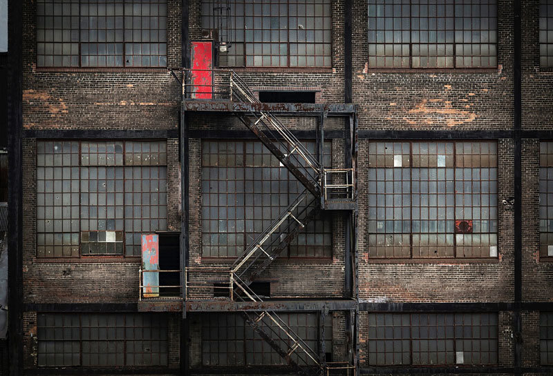 fire escape surroundings