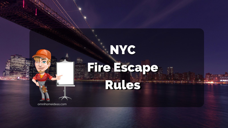 nyc fire escape rules